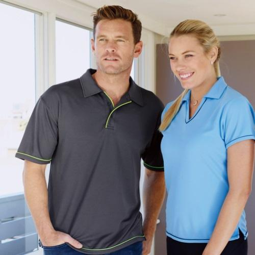 Outline Office Polo Shirt
