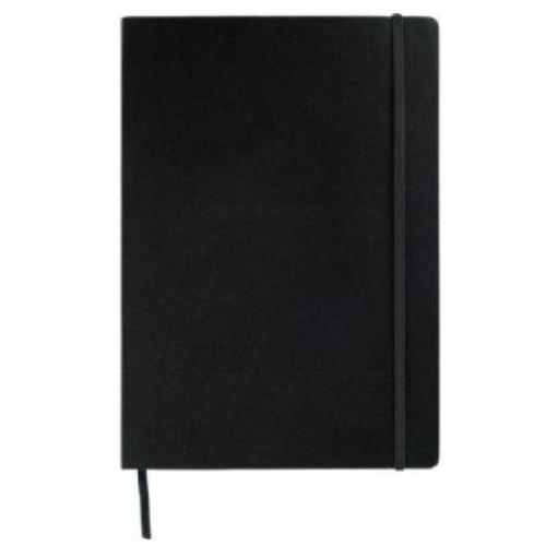 Avalon Large Notepad With Elastic Closure