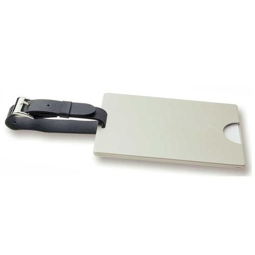 Avalon Pearl Nickel (Executive) Luggage Tag