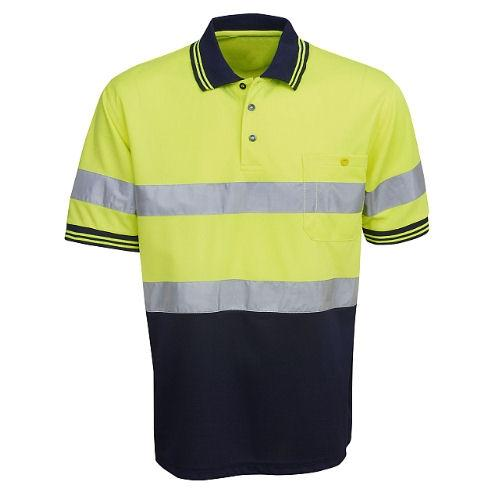 Hi Vis Polo Shirt Short Sleeve - Day/Night Use