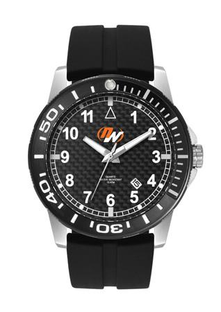 Mens Water Resistand Carbon Fibre Watch