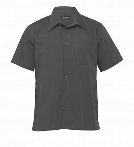 Phoenix Self Stripe Corporate Short Sleeve Shirt