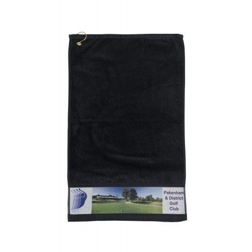 Photo Print Golf Towel