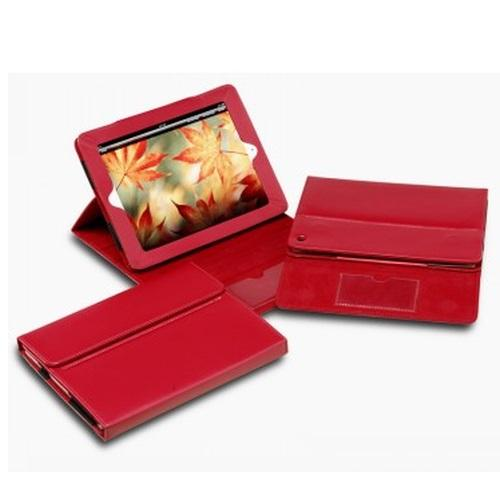 R&M Premium Leather iPad Cover & Display Stand