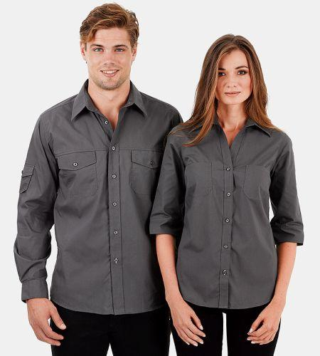 Reflections Double Pocket Business Shirt