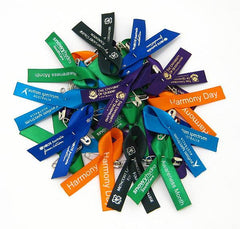 Reward Charity/ Support Ribbon Lapel Pins
