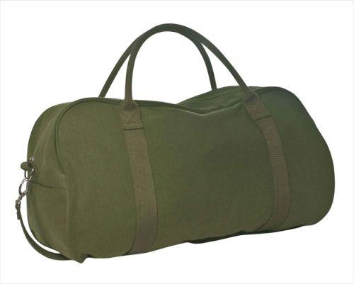 Sage Heavy Duty Canvas Duffle