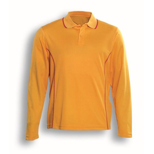 San Long Sleeve Quick Dry Polo Shirt