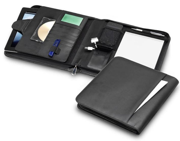 R&M A5 Universal Tablet Compendium with Adjustable Display Stand