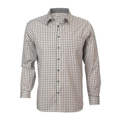 Reflections Two Tone Gingham Check Long Sleeve Shirt