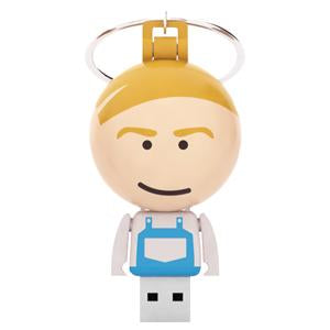 Ball Keychain USB People