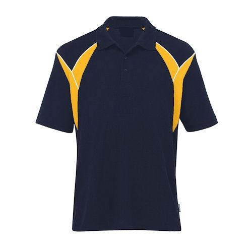 Phoenix Contrast Panel and Piping Polo Shirt