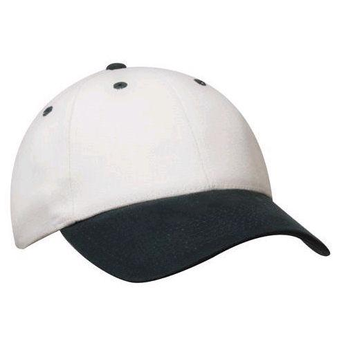 Brushed Heavy Cotton Cap with Logo