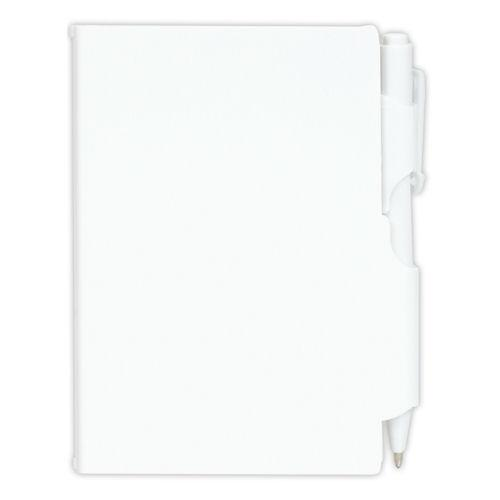 Bleep Plastic Pocket Notebook With Pen