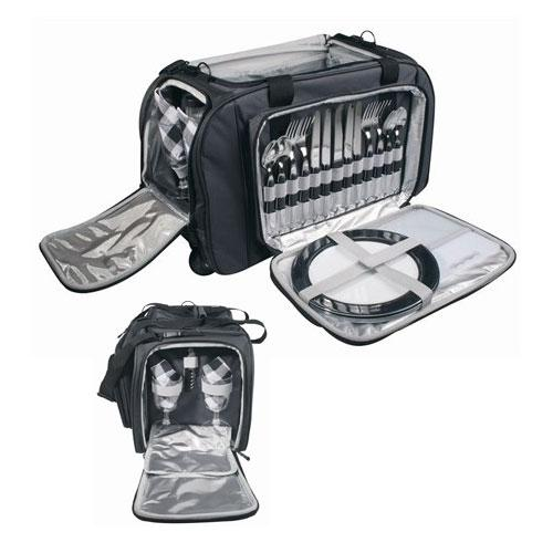 Yale Ultimate Picnic Set with Wheeled Trolley
