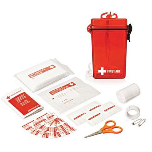 Cambridge First Aid Kit in Waterproof Container