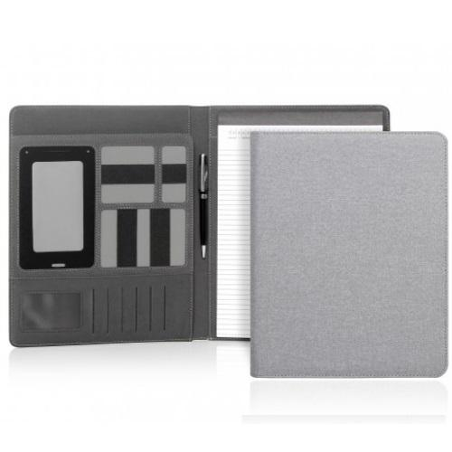 Cambridge Modern A4 Un-Zippered Compendium - Light Grey