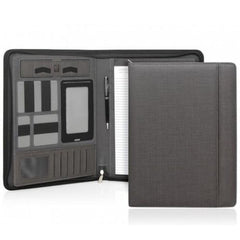 Cambridge Modern A4 Zippered Compendium - Charcoal