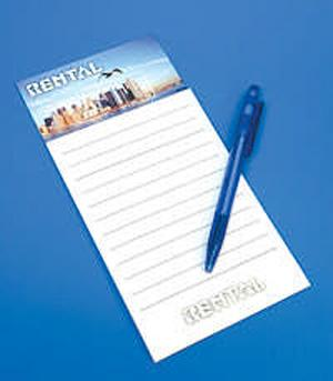 Magnetic Notepad with Header