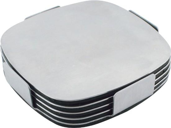 Dezine Executive Stainless Steel Coaster Set