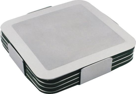 Dezine Prestige Stainless Steel Coaster Set