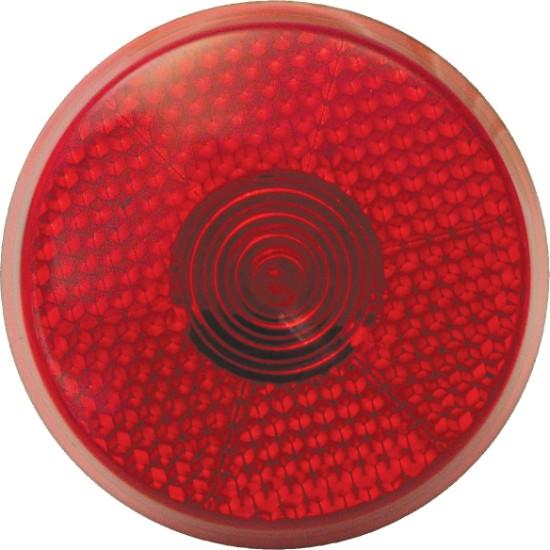 Dezine Red Circle Safety Blinker