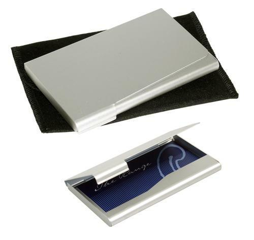 Avalon Aluminium Business Card Holder