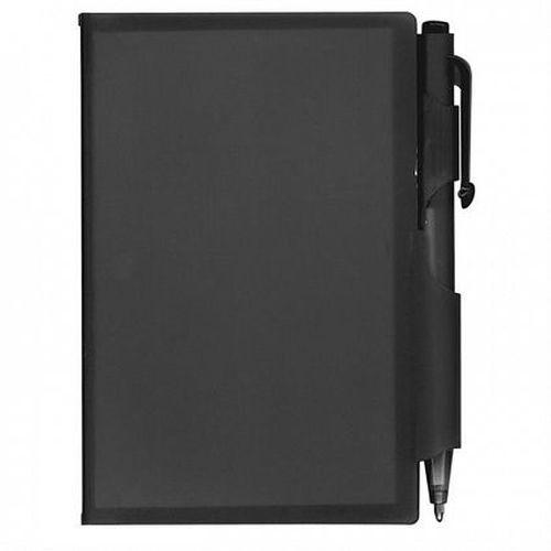 Eden Plastic Pocket Notebook with Pen