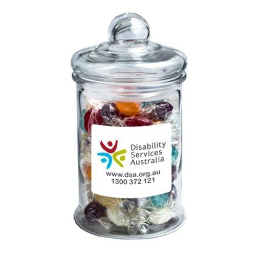 Yum Large Glass Lolly Jar