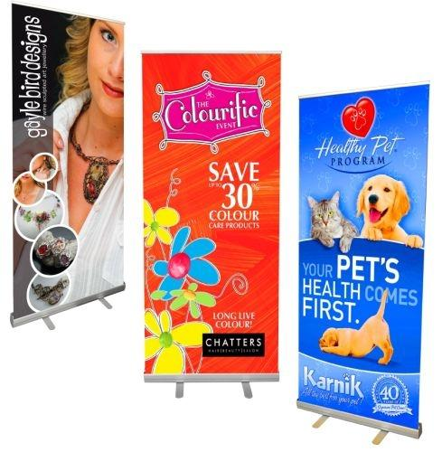 Pull Up Budget Retractable Banner