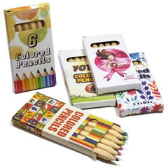 Colourd Pencils in Custom Box