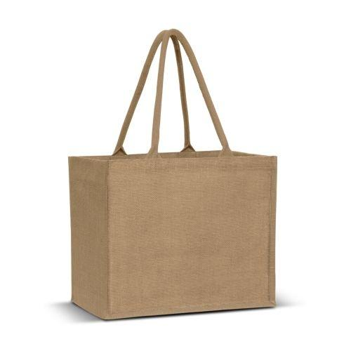 Eden Large Gusset Jute Carry Bag