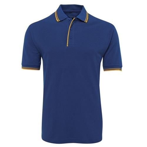 Malcom Contrast Trim Cotton Blend Polo Shirt