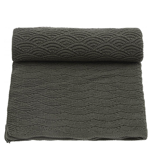Blanket Pointelle - Ivy Green