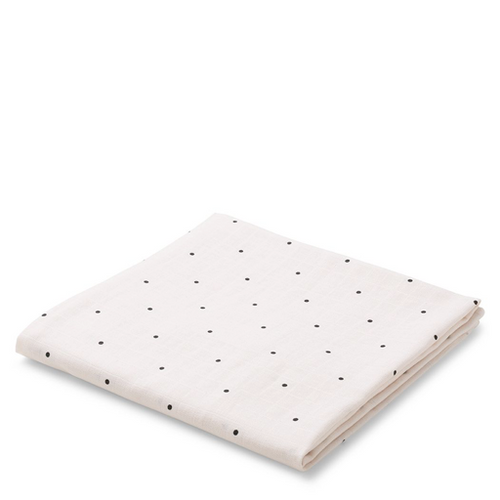 Molly Swaddle Print - Little Dot Rose