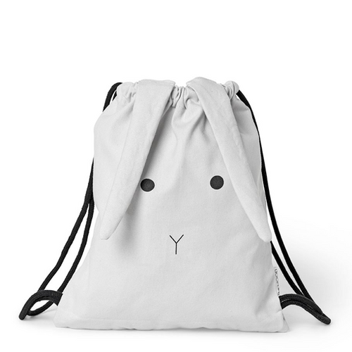 Gert Gym Bag -  Rabbit Dumbo Grey