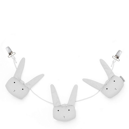 Holger Pram Chain - Rabbit Dumbo Grey