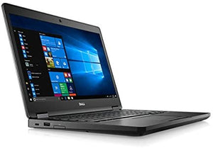 "Dell Latitude 5480 14"" Laptop- 6th Gen Hyper Threaded Intel Core i5, 8GB-16GB RAM, Hard Drive or Solid State Drive, Win 7 or Win 10"