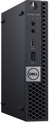 Dell Optiplex 7060 Mini Desktop PC- 8th Gen Intel Six Core i5, 8GB-16GB RAM, Hard Drive or Solid State Drive, Win 10 PRO