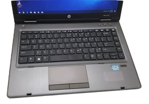 "HP ProBook 6470b 14"" Laptop- 1.9GHz Intel Dual Core Celeron, 8GB-16GB RAM, Hard Drive or Solid State Drive, Win 7 0r Win 10 PRO"