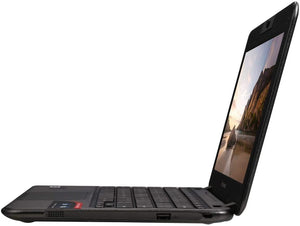 "Lenovo N21 ChromeBook 11.6"" Laptop- Dual-Core Celeron CPU, 4GB RAM, 16GB Solid State Drive, Chrome OS 85"
