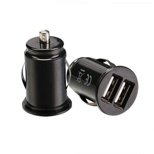 Dual USB Car Phone Charger - Computers 4 Less