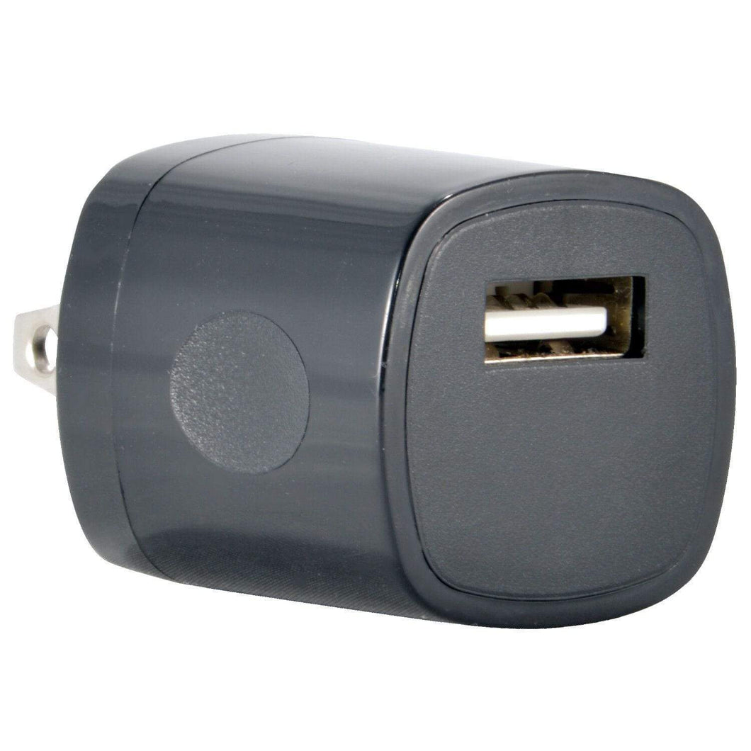Accessories USB Wall Charger- White or Black