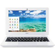 "Load image into Gallery viewer, Acer ChromeBook 11.6"" Laptop- 2.16 Intel Dual-Core Celeron CPU, 4GB RAM, 16GB Solid State Drive, Chrome OS 85"