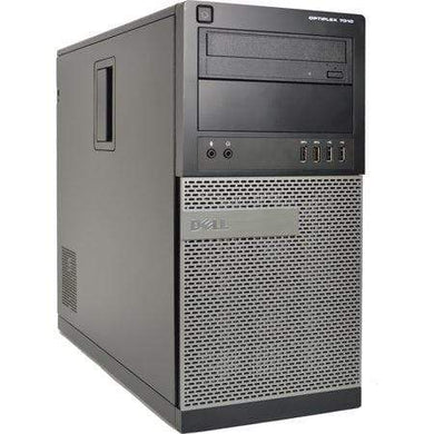 Dell Optiplex 7010 Desktop PC- 3rd Gen 3.4GHz Intel Core i5 CPU, 8GB-24GB RAM, Hard Drive or Solid State Drive, Win 7 or Win 10 PRO - Computers 4 Less
