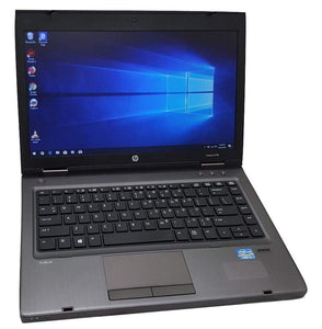 "HP ProBook 6470b 14"" Laptop- 3rd Gen 2.5GHz Intel Core i5 CPU, 8GB-16GB RAM, Hard Drive or Solid State Drive, Win 7 0r Win 10 PRO - Computers 4 Less"
