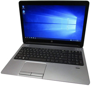 "HP ProBook 650 G1 15.6"" Laptop- 4th Gen 2.6GHz Intel Core i5 CPU, 8GB-16GB RAM, Hard Drive or Solid State Drive, Win 7 or Win 10 PRO - Computers 4 Less"