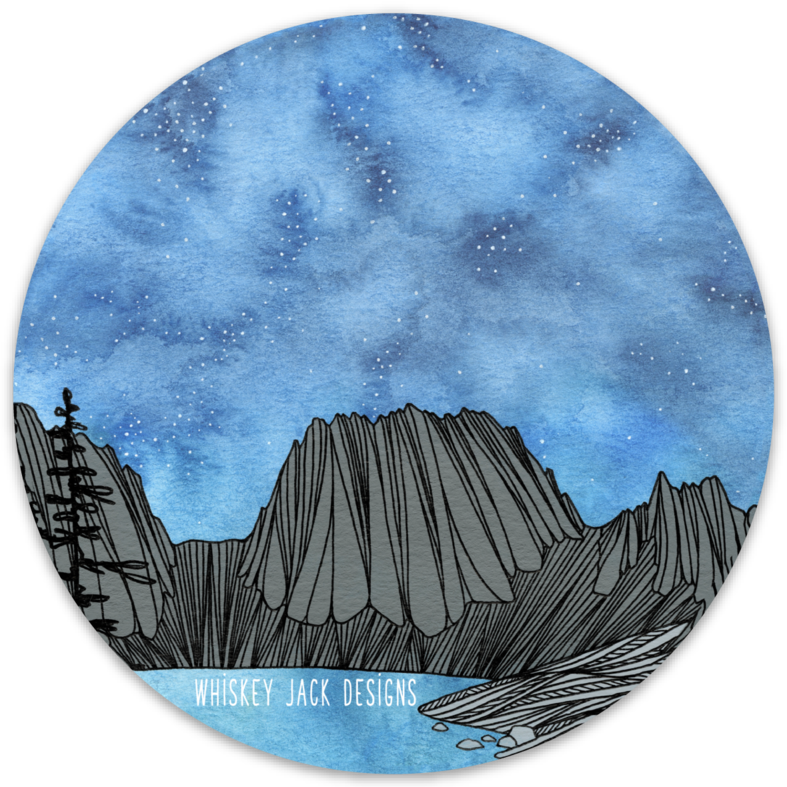 Colchuck Nighttide Sticker