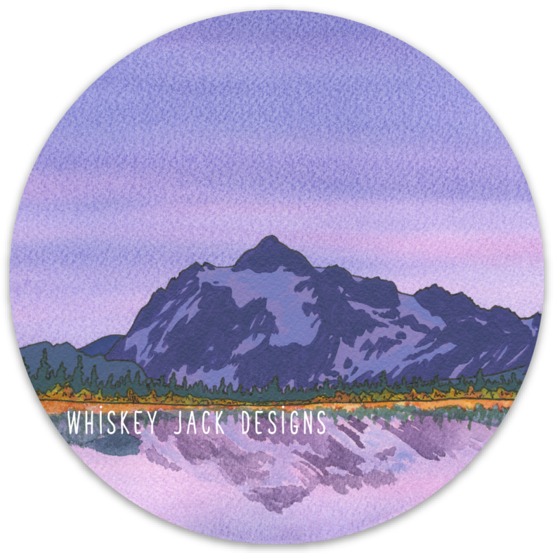 Shuksan Sticker