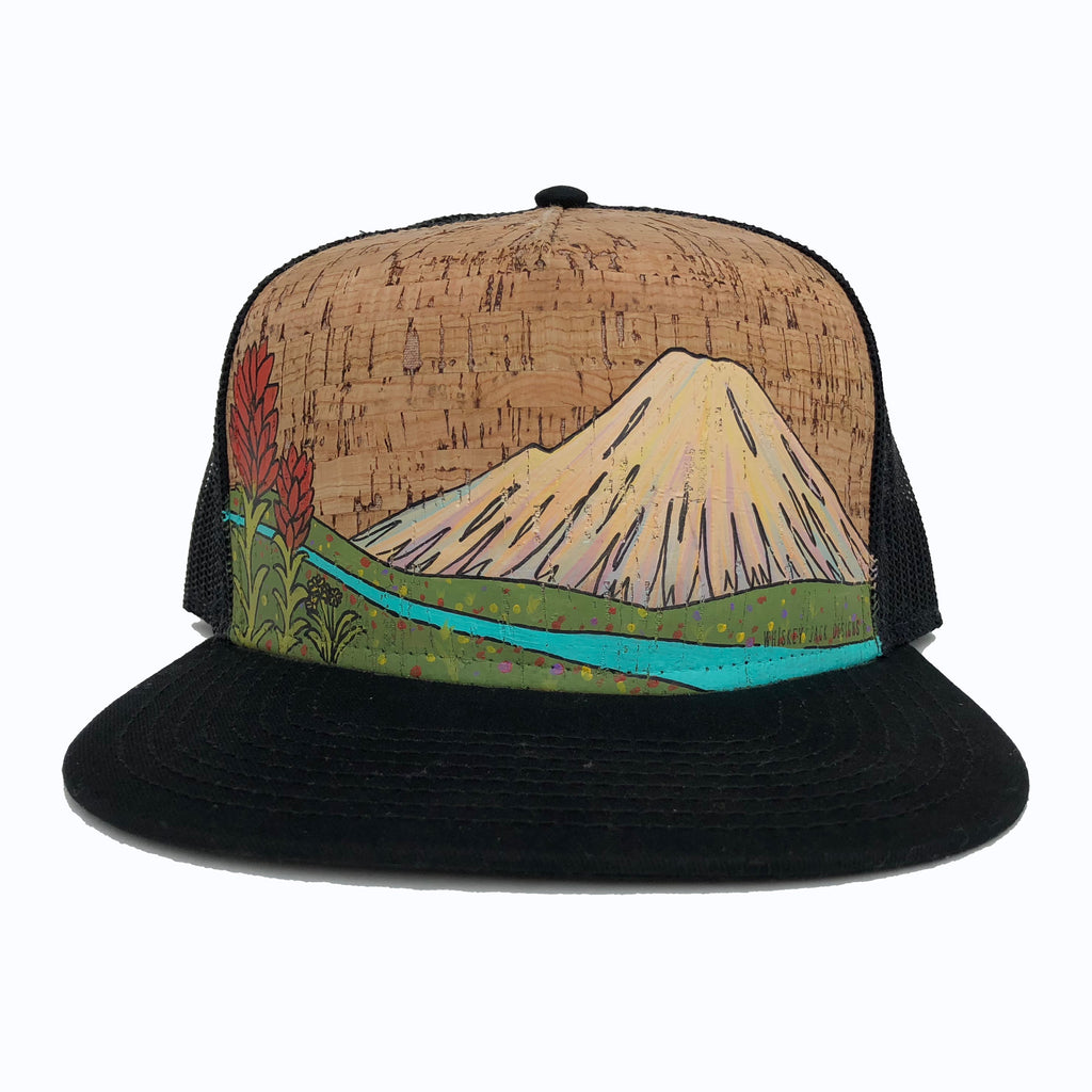 Custom Hand Painted Cork Hat